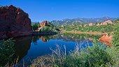 Lake at Red Rock Canyon