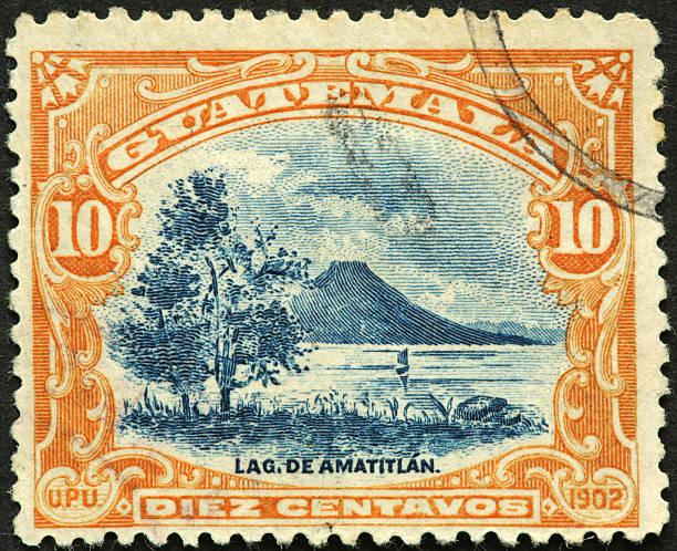 Lake Atitlan Guatemala stock photo