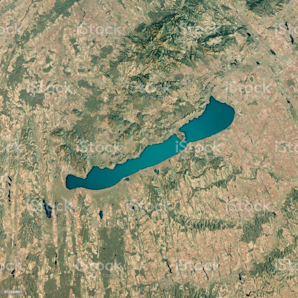 Topographische Karte Ungarn.Plattensee 3drender Sattopographische Karte Anzeigen