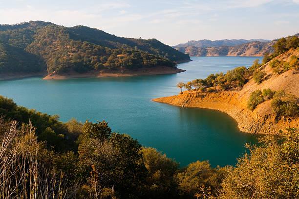 Lake Berryessa stock photo