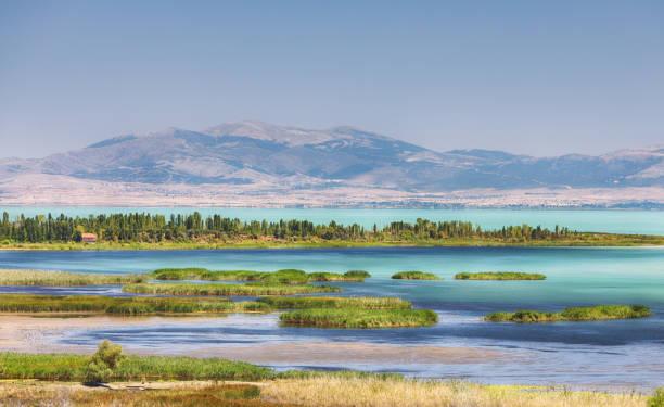 Lake Beysehir, Konya, Turkey stock photo