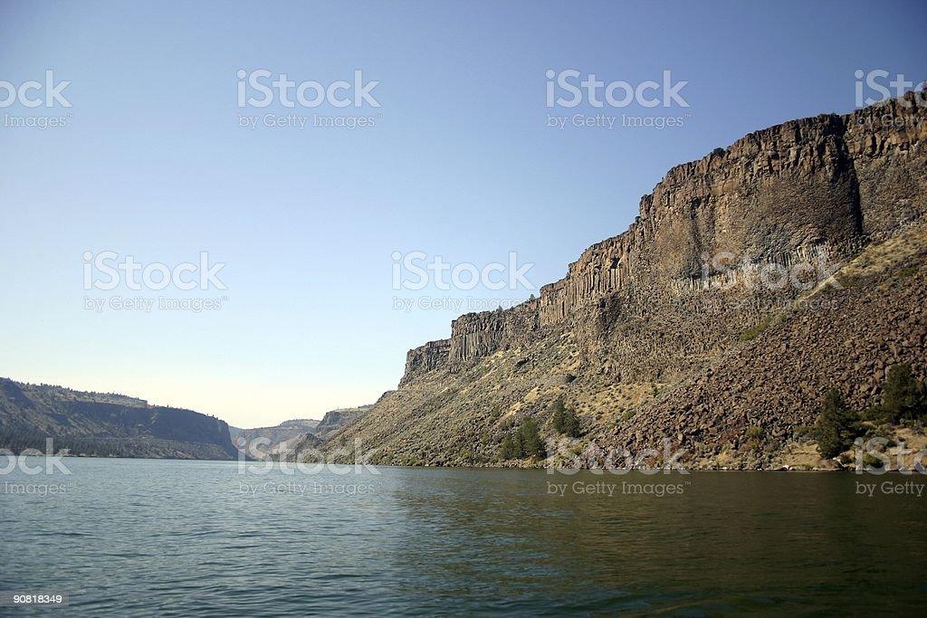 Lake Billy Chinook stock photo