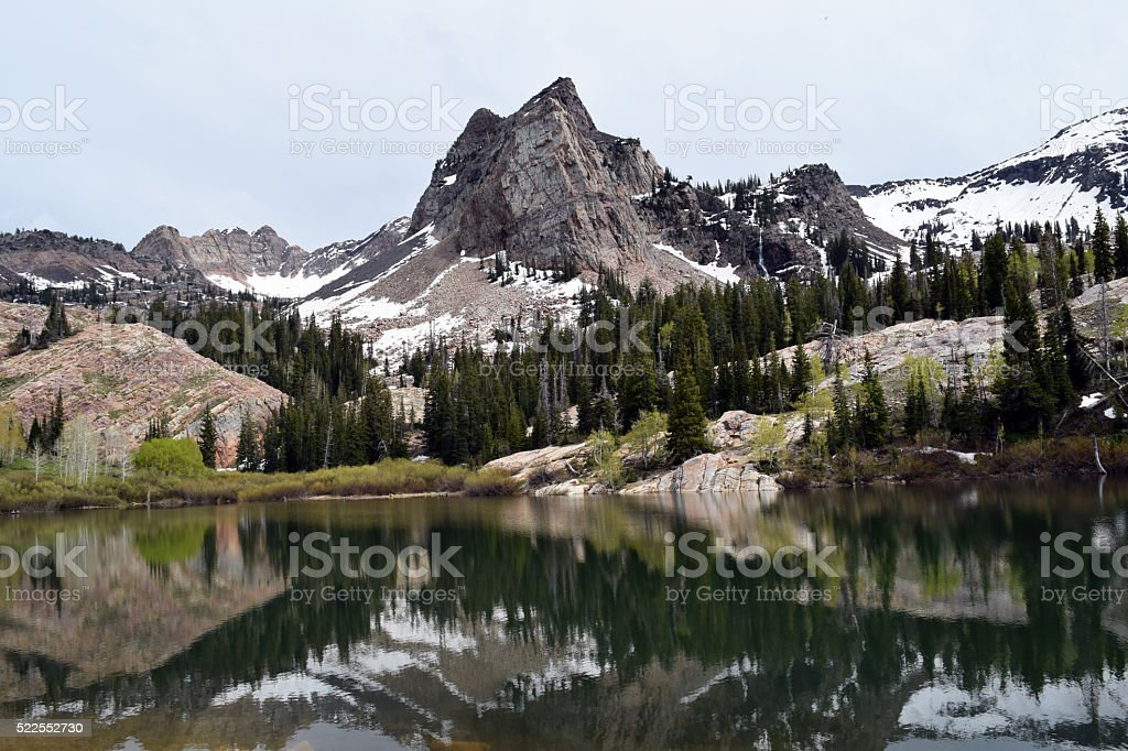 Lake Blanche stock photo