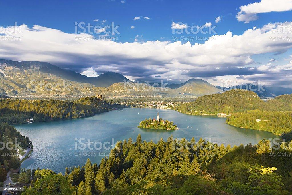 Bleder See in Julianische Alpen, Slowenien. – Foto