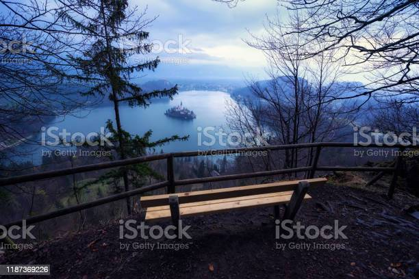 Photo of Lake Bled in Slovenia