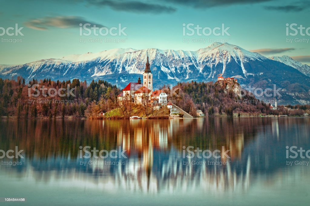 Lake Bled - Slovenia stock photo