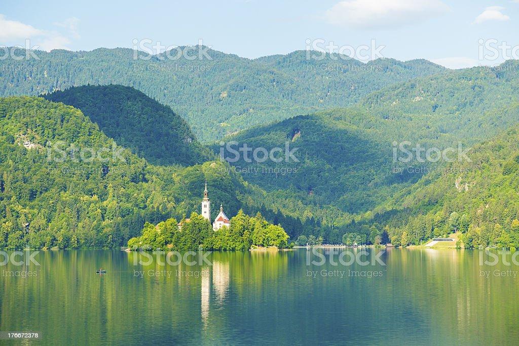 Lake Bled, Slovenia royalty-free stock photo