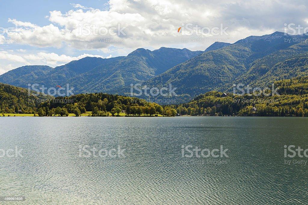 Lake Bohinj (Slovenia) royalty-free stock photo