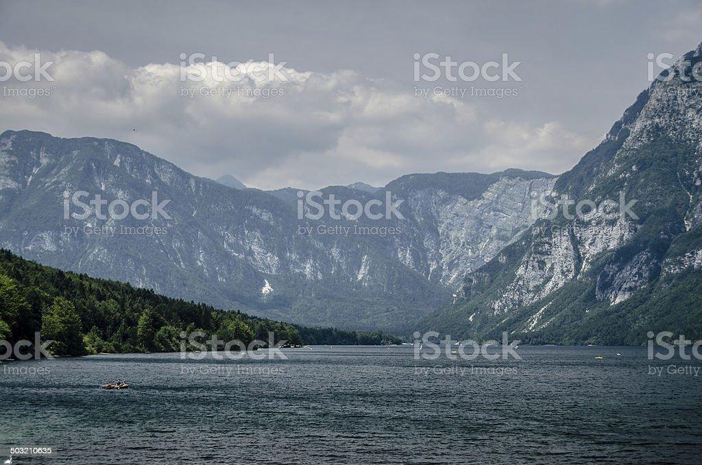 Lake Bohinj - Slovenia royalty-free stock photo
