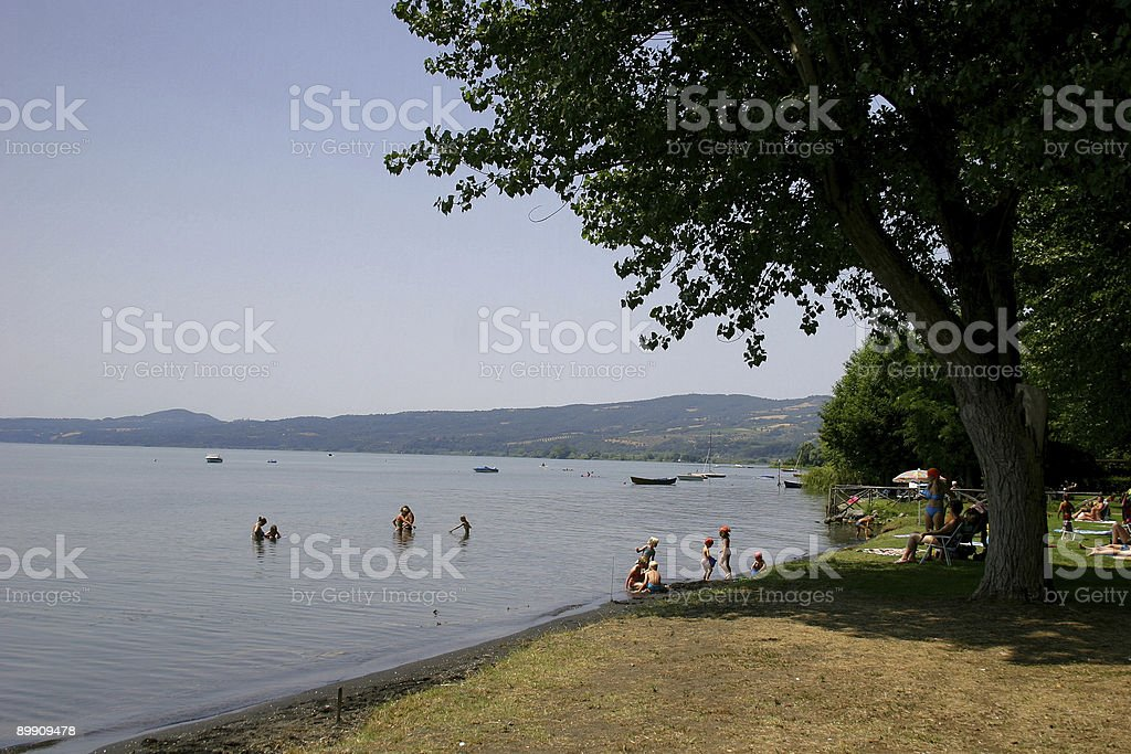 Lago Bolsena royalty-free stock photo