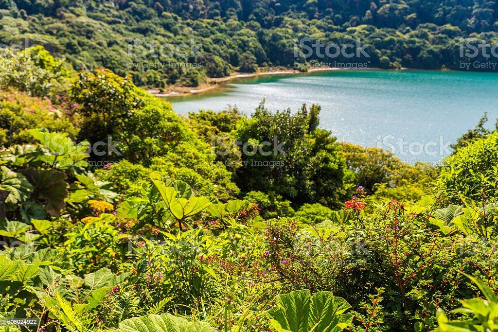 Lake Botos in Vulkan Poas in Costa Rica – Foto