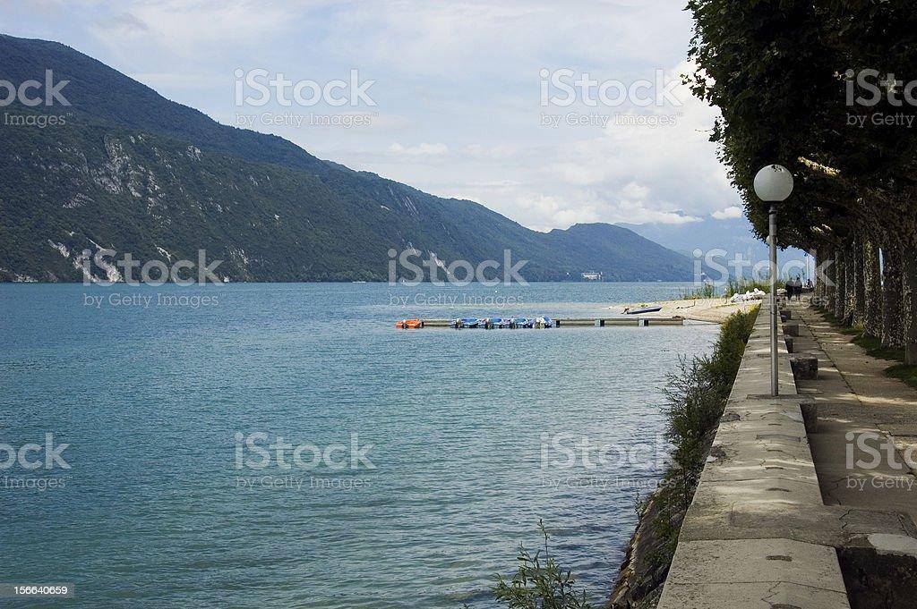 Lac Bourget et moyen d'Aix-les-bains - Photo