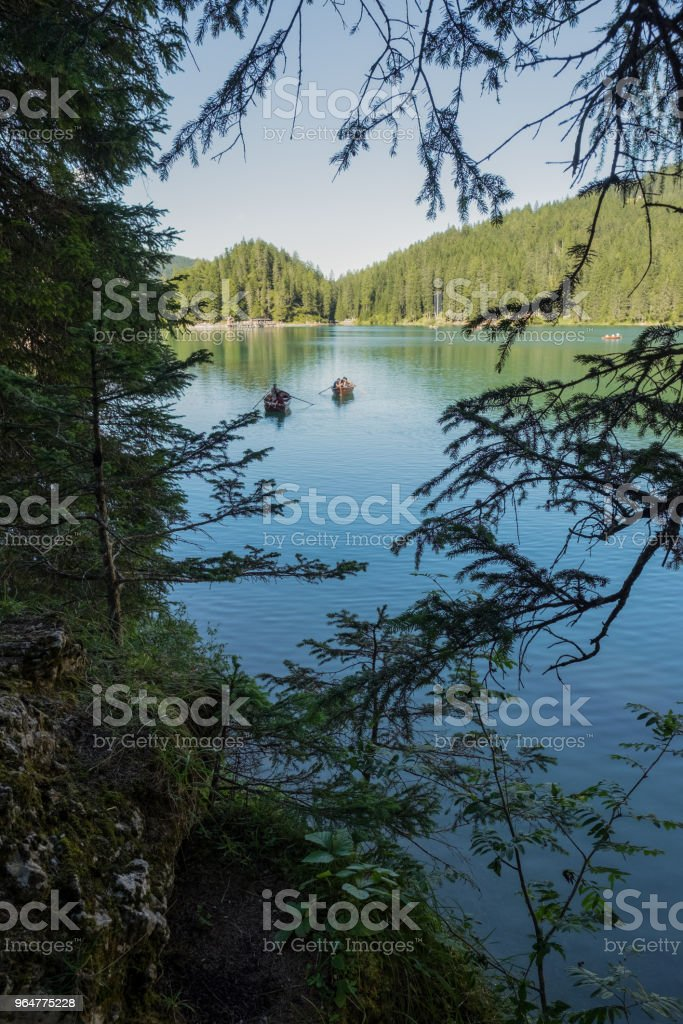 Lake Braies royalty-free stock photo