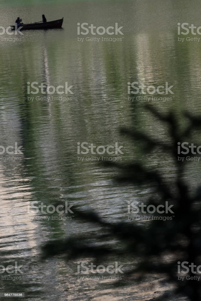 Lake Braies royalty-free stock photo