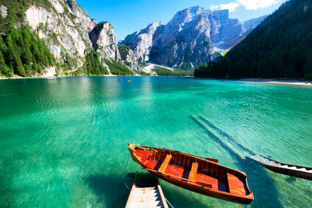 Lake Braies, South Tyrol, Alto Adige, Italy
