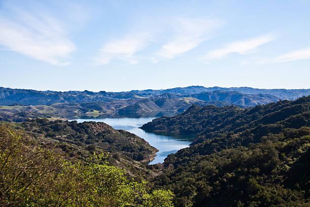 Lake Casitas stock photo