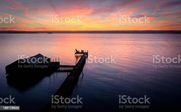 Lake Cayuga Sunrise Stock Photo - Download Image Now