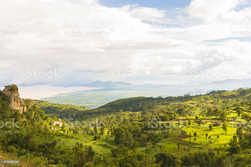 Lake Chamo Village Area royalty-free stock photo