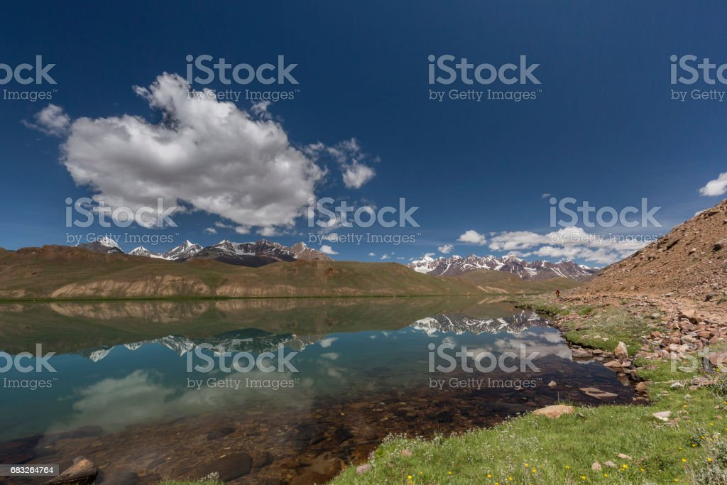 lake chandra tal foto de stock royalty-free