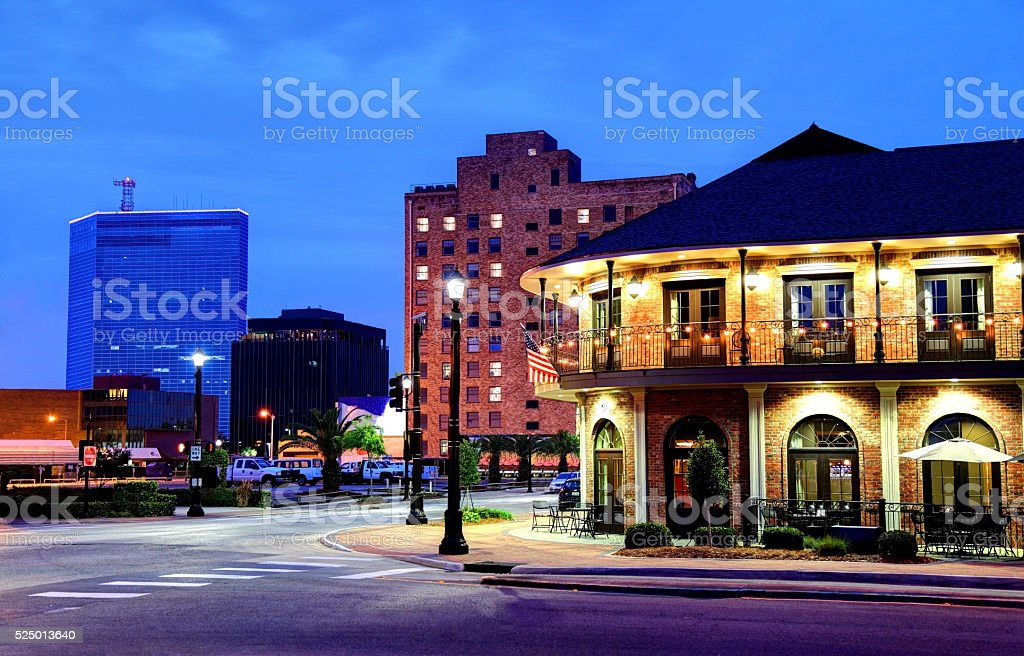 Lake Charles, Louisiana stock photo