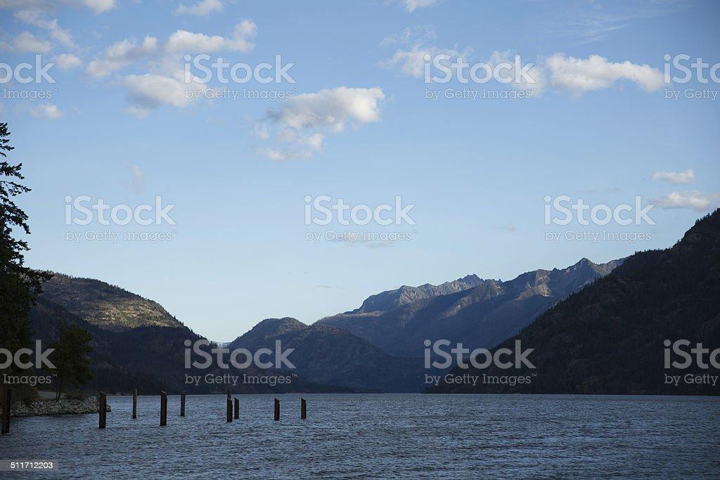 Lake Chelan - 6 stock photo