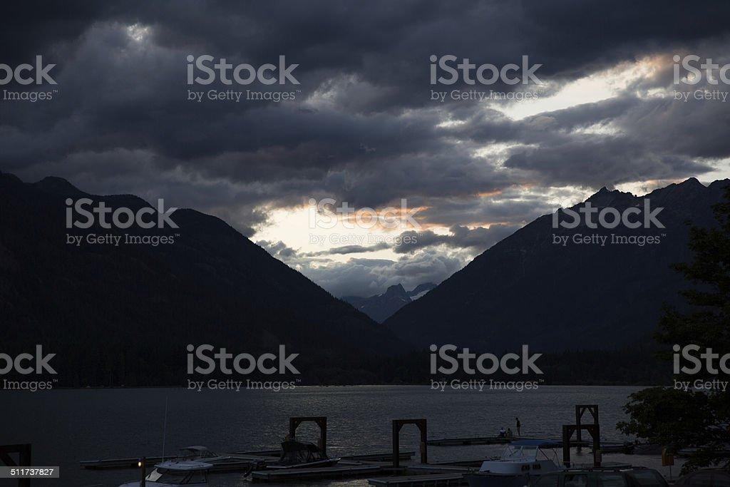Lake Chelan - 7 stock photo