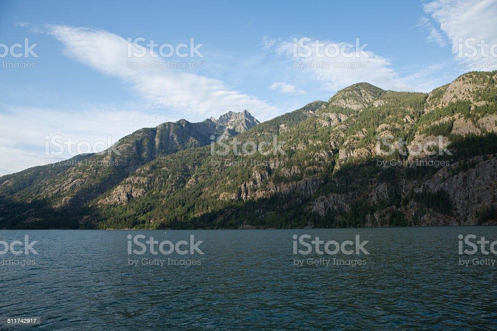 Lake Chelan - 9 stock photo