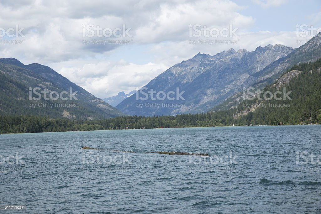 Lake Chelan stock photo