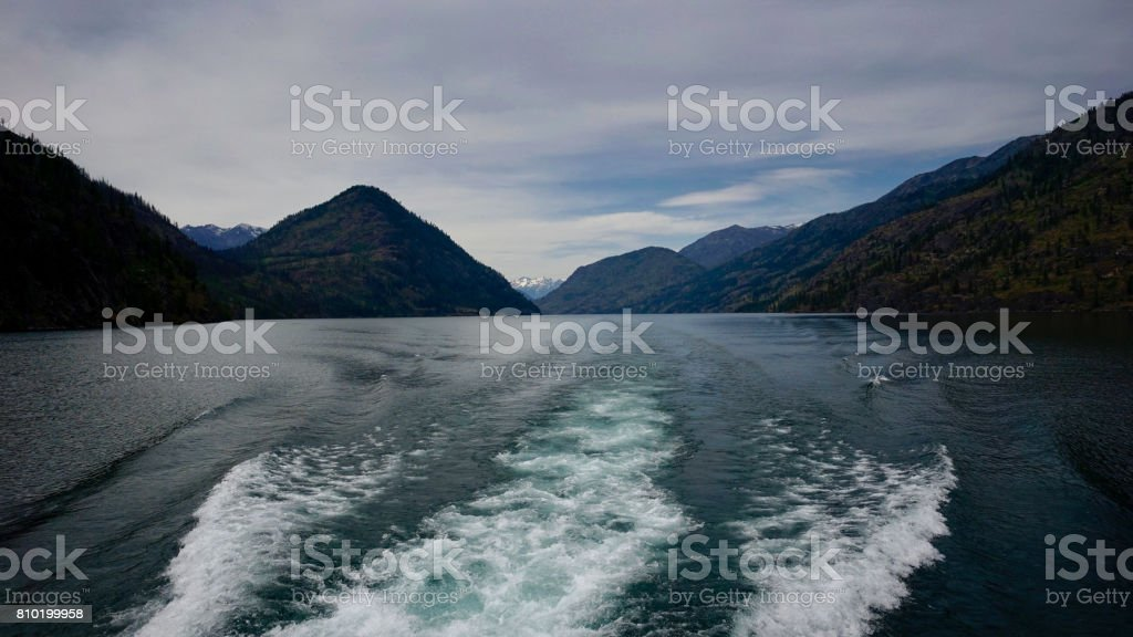 Lake Chelan, WA, USA stock photo