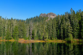 Lake Christine In The Glacier View Wilderness  in Western Washington State, United States