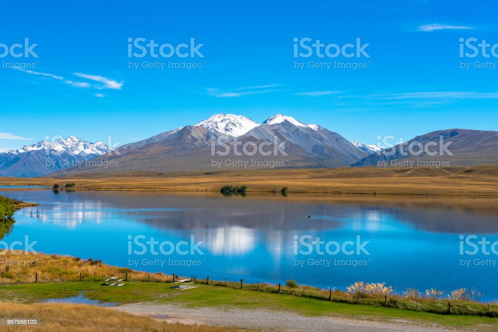 Lake Clearwater stock photo