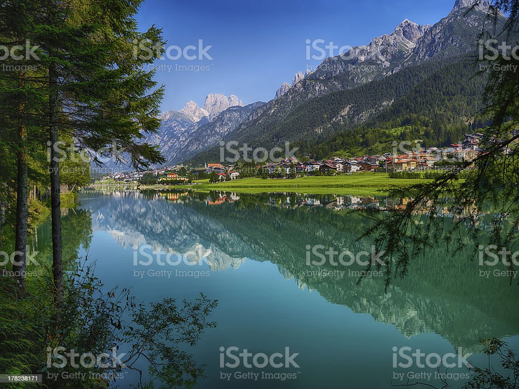 Lake. Color Image royalty-free stock photo
