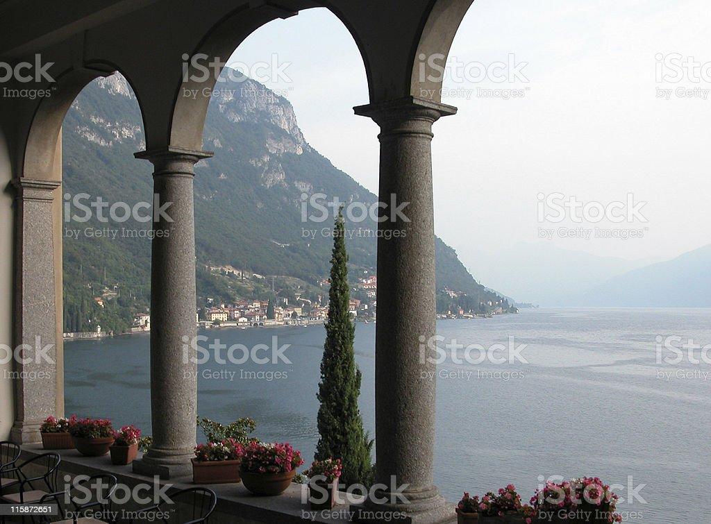 Lake Como Italy stock photo