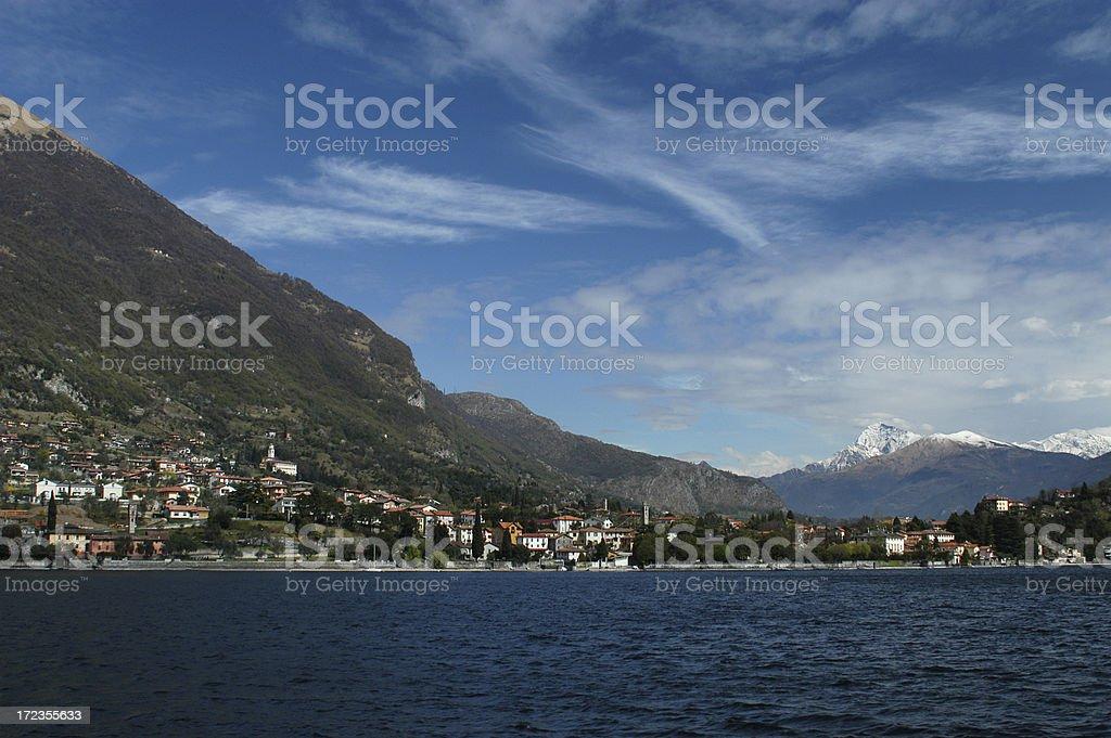 Lake Como Italy royalty-free stock photo