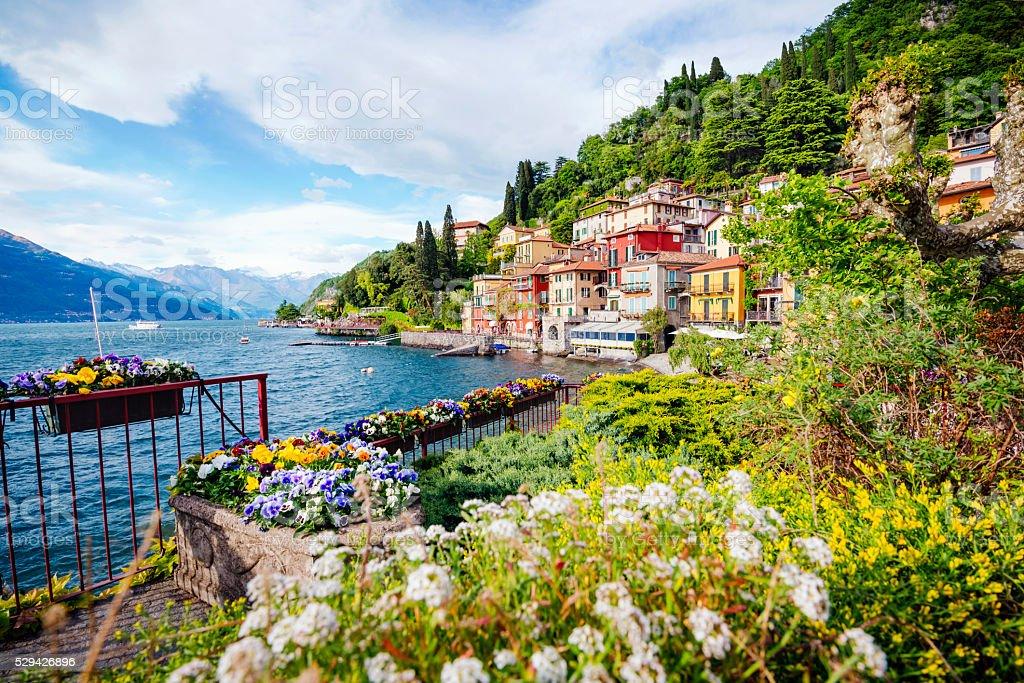 Lake Como, Italy stock photo