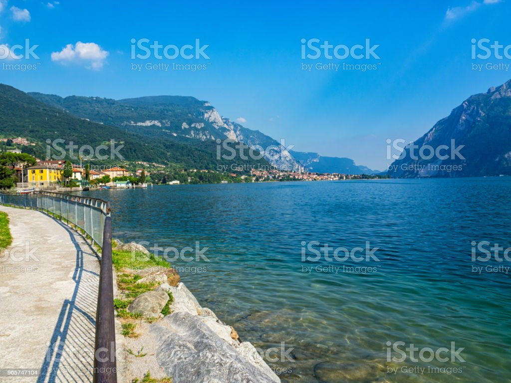 Lake Como Mandello del Lario - Royalty-free Ancient Stock Photo