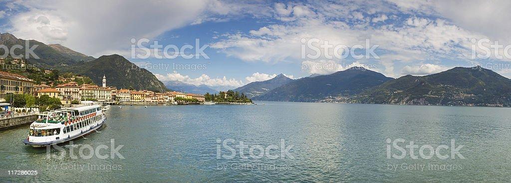Lake Como. royalty-free stock photo