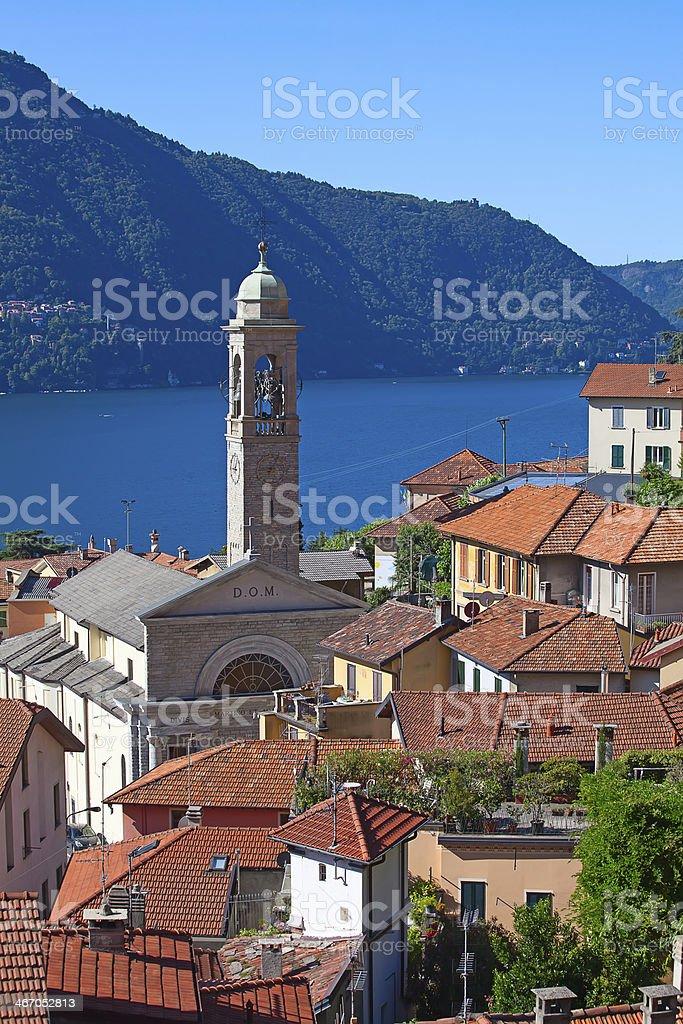 Lake Como stock photo
