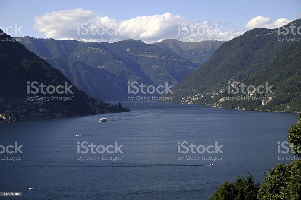 Lago di Como foto stock royalty-free
