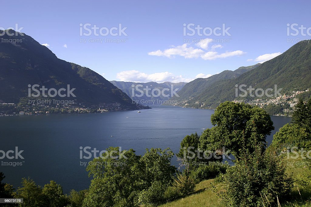 Lake Como royalty-free stock photo