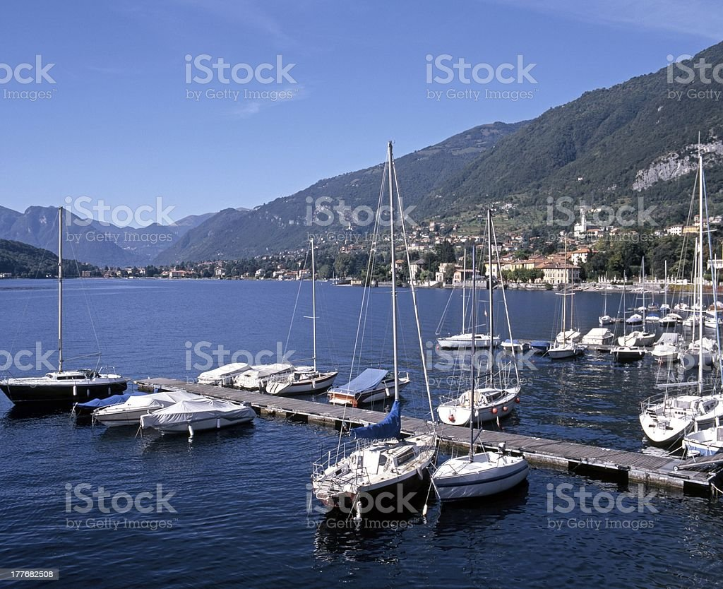 Lake Como, Tremezzo, Italy. royalty-free stock photo