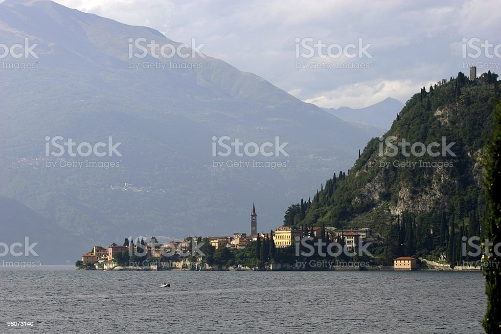 Lake Como, Varenna royalty-free stock photo