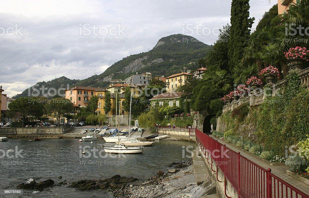Lake Como, Varenna royalty-free stock photo