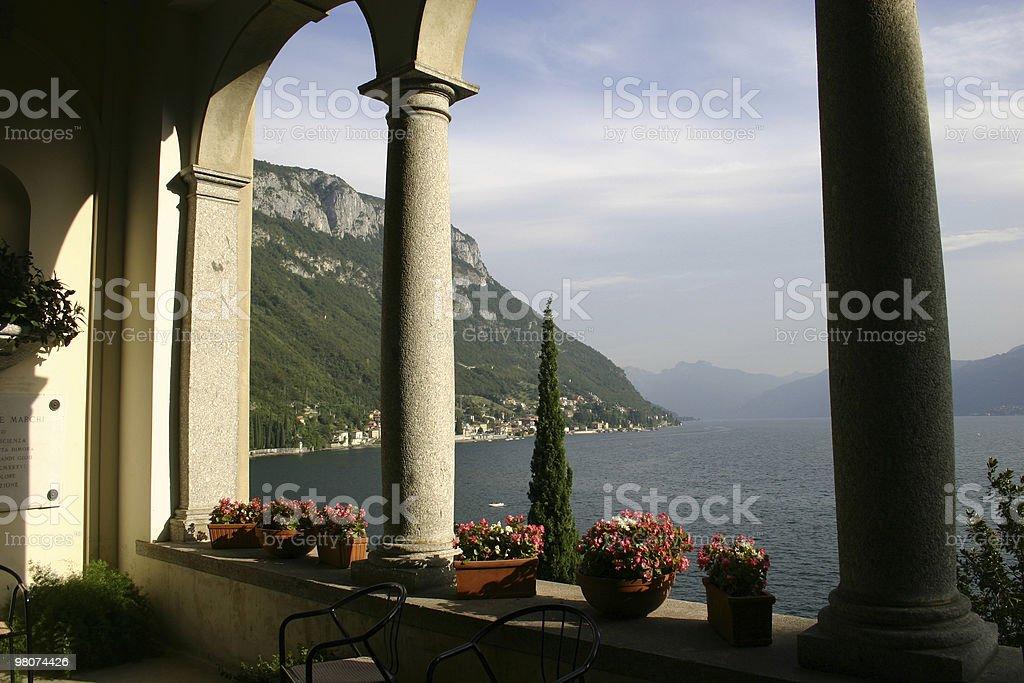 Lake Como, Verenna royalty-free stock photo
