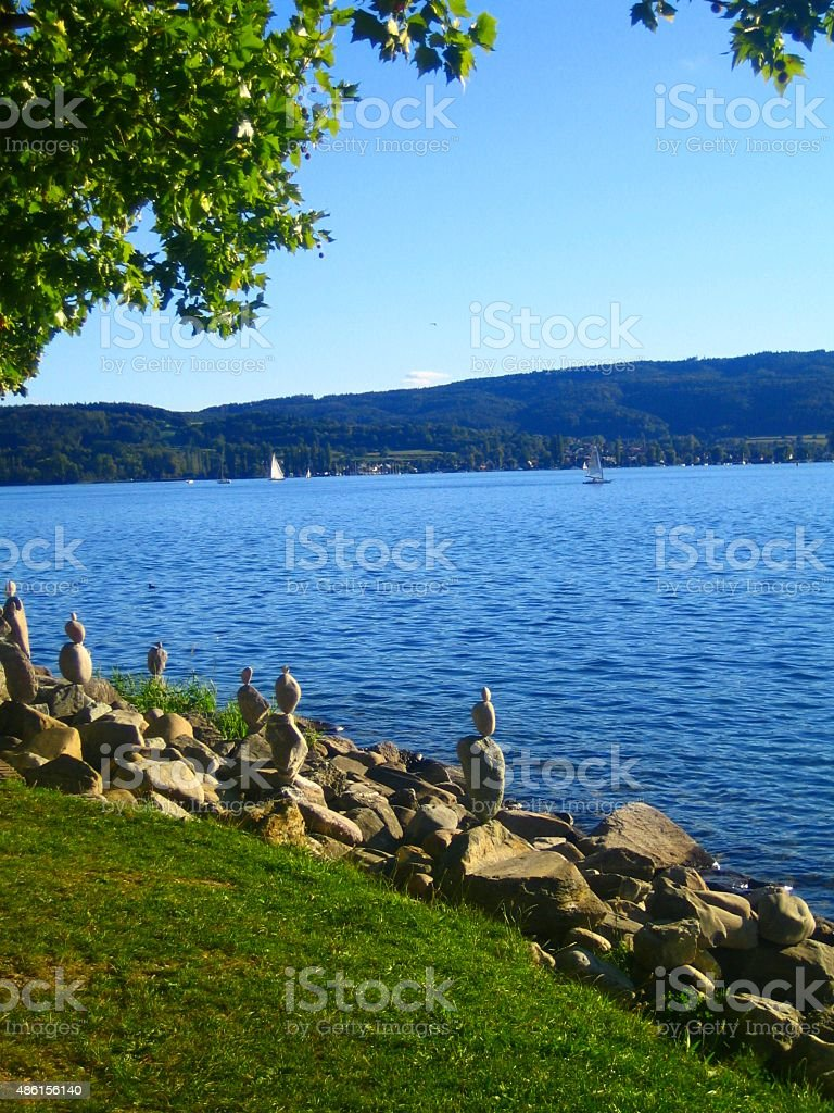 Bodensee Urlaub Sommer See Panorama Stock Photo More Pictures Of