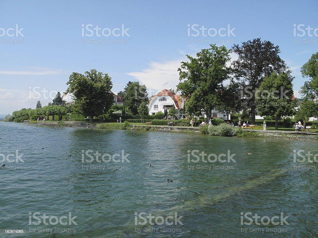 Lake Constance/Germany - Hagnau stock photo