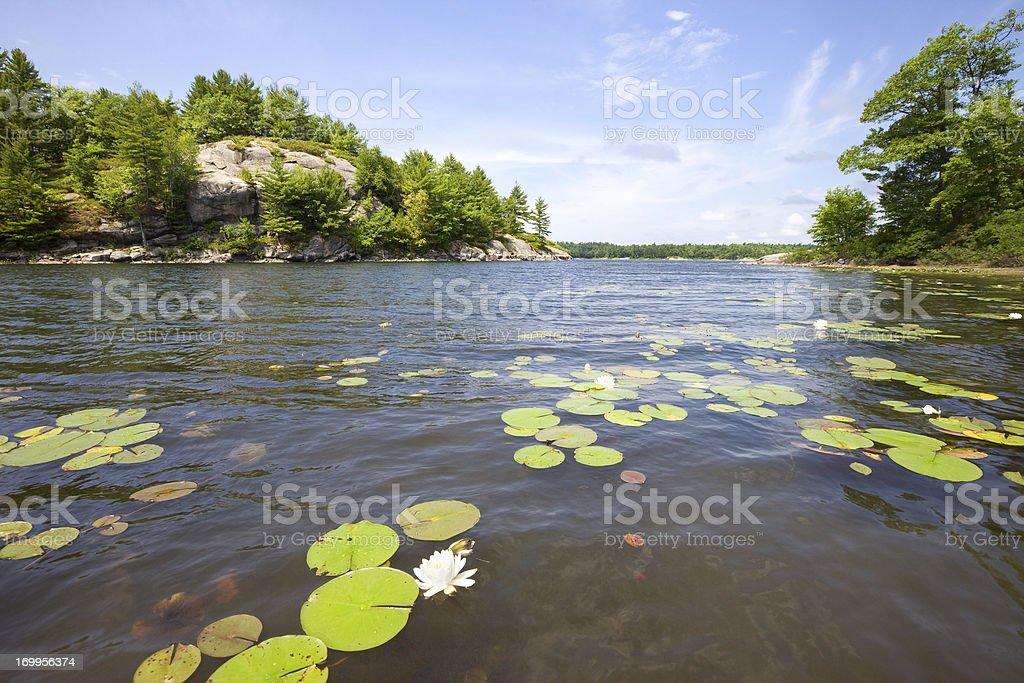 Lake Country stock photo