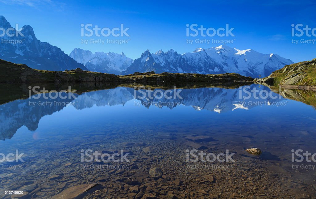 Lac De Cheserys stock photo