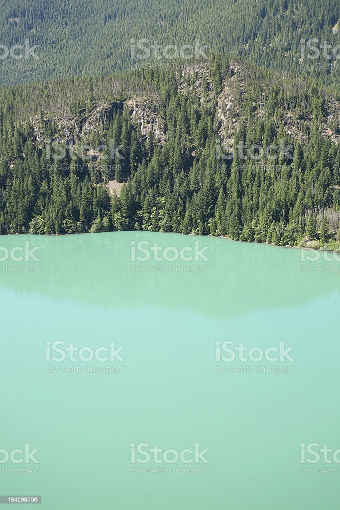 Lake Diablo royalty-free stock photo