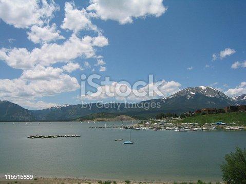 Lake Dillon in Summit County, Colorado.